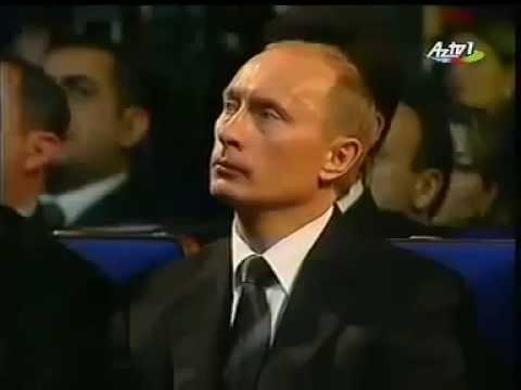 İlham əliyev və Putin Qarabağ Şikəstəsini dinləyir