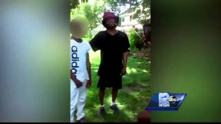 Video gone viral of a man hitting teen with belt