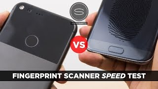 Google Pixel XL vs Samsung Galaxy S7 Edge - Fingerprint Scanner Speed Test