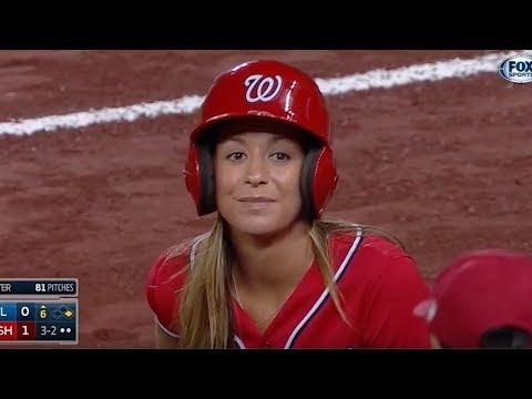 10 Epic MLB Ball Girl Moments