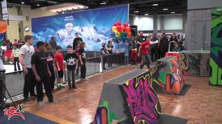 Urban Evolution Alexandria's Parkour Demo at the NBC Health and Fitness Expo 2014