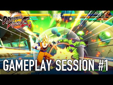 Dragon Ball FighterZ XB1 PS4 PC Gameplay session 1