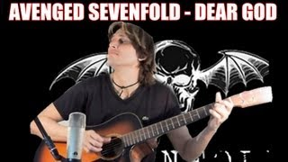 Avenged Sevenfold - Dear God [FINGERSTYLE GUITAR] Cover Acoustic Guitar solo