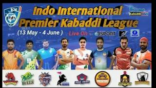 IIPKL Season 1 match schedule 2019