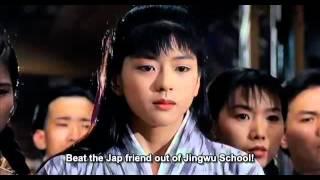 Jet Li's Fist Of Legend 1994: Jet Li vs Chin Siu Huo-Fight Scene