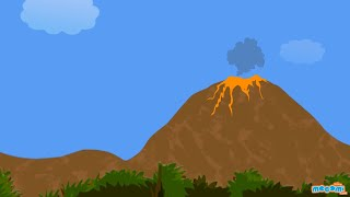 What is a Volcano? Facts & Information - Geography for Kids | Educational Videos by Mocomi