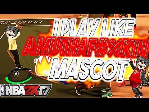 I DESERVE A MASCOT 😤 I PLAY LIKE A LEGEND 1 MASCOT 💯 NBA 2K17 MyPARK