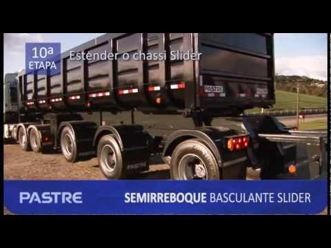 Semirreboque Basculante Wanderléia Slider PASTRE novo vídeo FENATRAN