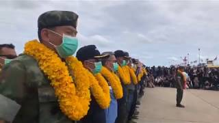 Thai Cave Rescue: Watch the Thai Navy SEALs' welcome home celebration