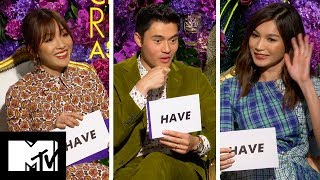 Crazy Rich Asians Cast Play Never Have I Ever   MTV Movies