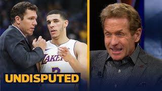 Skip Bayless explains why 'it's Lonzo Ball vs Luke Walton' on the Lakers | UNDISPUTED