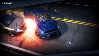 NFS Most Wanted 2 Crashes & Takedowns