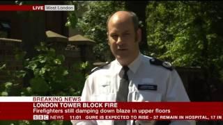 London Fire: 17 people confirmed dead - BBC News