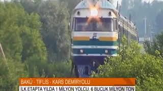 Bakü Tiflis Kars Demiryolu Projesi Detayları - TRT Avaz Haber