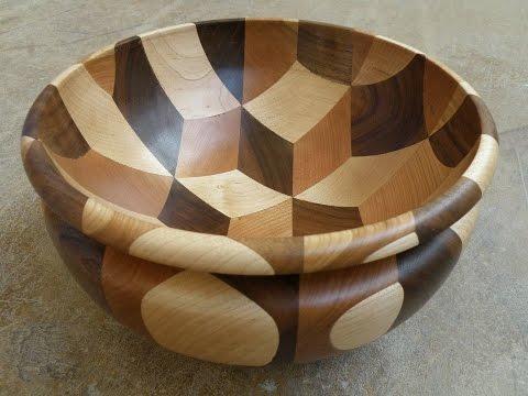 Woodturning Tumbling Bowl