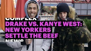 Drake vs. Kanye West: New Yorkers Settle the Beef