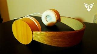 How to Make Wooden Headphones  🎧