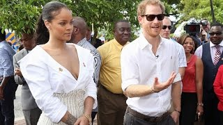 Prince Harry and superstar Rihanna getting a HIV Test
