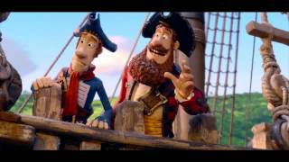 The Pirates! Band of Misfits - Hunger Games Parody Trailer - Hugh Grant Movie (2012) HD
