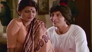 Shakti Kapoor Blackmailing Sarika @ Ek Daku Saher Mein - Suresh Oberoi, Sarika