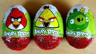 Angry Birds - Chocolate Eggs