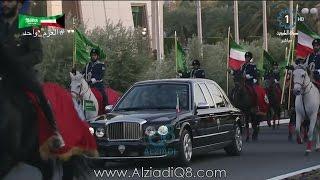 مراسم إستقبال صاحب السمو الشيخ صباح الأحمد لخادم الحرمين الملك سلمان بن عبدالعزيز 8-12-2016