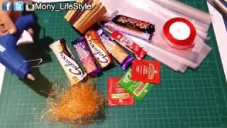طريقة عمل هدية/سهلة وسريعة/ شوكلت بوكس رقيق وشيك - DIY chocolate box gift easy & fast gift
