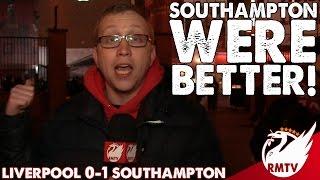 Liverpool v Southampton 0-1 | Southampton Were Better! | Chris' Match Reaction