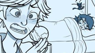 Miraculous Ladybug [Comic Dub] - Sleepover