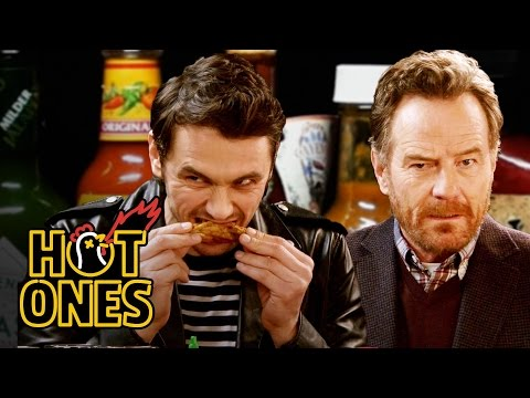 Xxx Mp4 James Franco And Bryan Cranston Bond Over Spicy Wings Hot Ones 3gp Sex