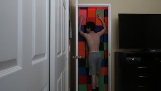 PARENTS TRAP ME IN MY ROOM PRANK!!