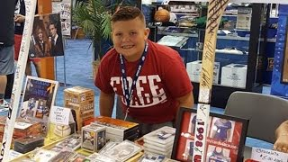 10-Year-Old Boy Sells Baseball Card Collection To Help Friends Battling Cancer