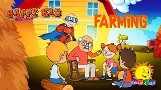 Happy Kid | Farming | Episode 19 | Kochu TV | Malayalam