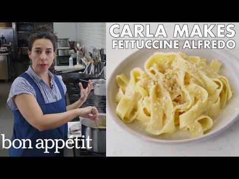 Xxx Mp4 Carla Makes BA S Best Fettuccine Alfredo From The Test Kitchen Bon Appétit 3gp Sex