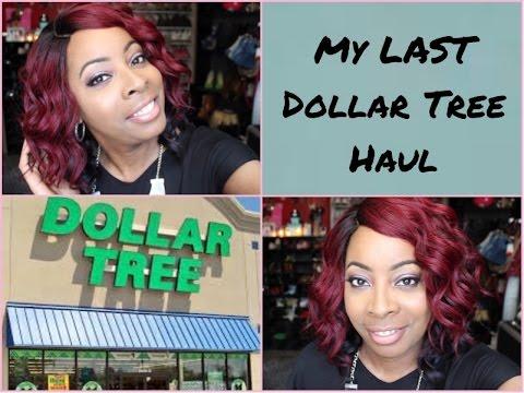 MY LAST DOLLAR TREE BEAUTY HAUL!! | New Makeup,