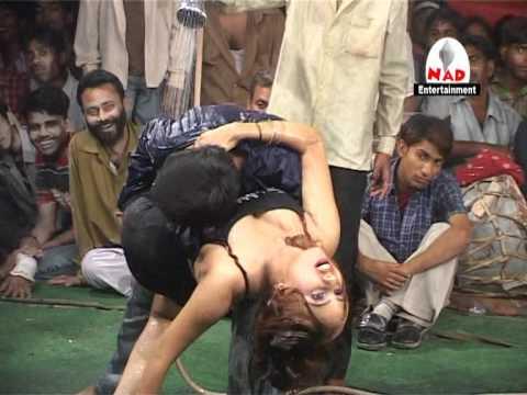 Bhojpuri hot stage show.VOB