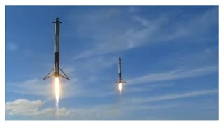 SpaceX: Falcon Heavy - Full Launch (T-45 seconds till end)