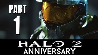 Halo 2 Anniversary Walkthrough Part 1 - HERETIC (Mission1-3) Master Chief Collection - 60fps