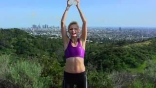 Ćwiczenia na idealne, smukłe ramiona i ręce · z lekkimi ciężarkami
