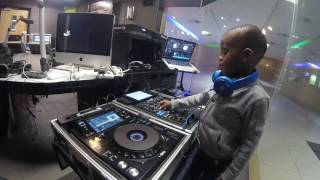 DJ ARCH JNR Live on Metro fm - Youth Day Mix 2017 (5yrs Old)