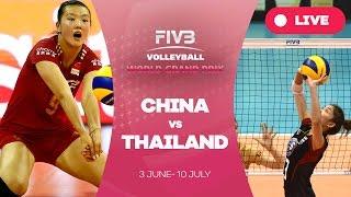 China v Thailand - Group 1: 2016 FIVB Volleyball World Grand Prix