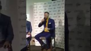 Conor McGregor who the fuck is that guy😂😂😂