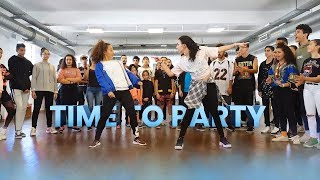 Flavour - Time To Party   Afro Dance Choreography