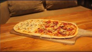 OK FOOD Episode 54 - Mantap! Pizza Meteran di Honey and Me Beneran Ada