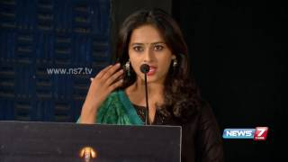 Srividya speaks about her role in 'Marudhu' movie | News7 Tamil