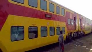 A/C double-decker train