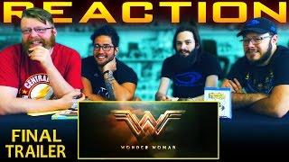 Wonder Woman – Rise of the Warrior [Official Final Trailer] REACTION!!