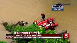NewsChannel5 - Sumner Flash Flood Coverage POP