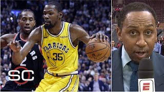 Stephen A. gives Warriors the edge vs. Raptors in the NBA Finals | SportsCenter