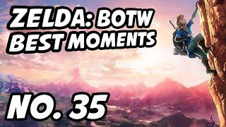 Zelda BOTW Best Moments | No. 35 | LilyPichu, Base__, iateyourpie, Cheesewiz, Duki420